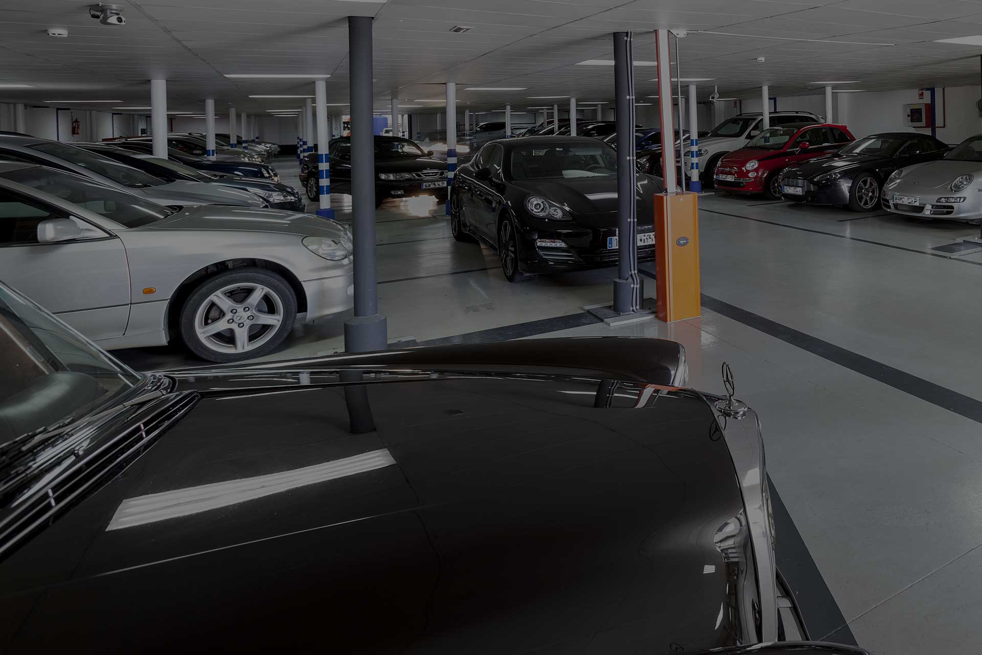 cars in malaga airport garages